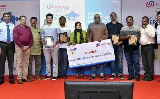 Mikudu team wins The Hindu BusinessLine Cerebration Quiz
