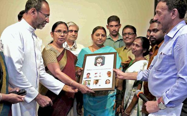 Family of donor honoured