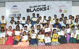 The Hindu in School chess competition held