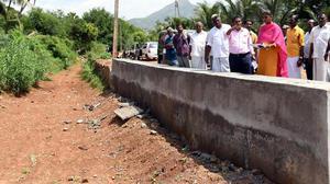 '30 tanks desilted under kudimaramathu scheme'