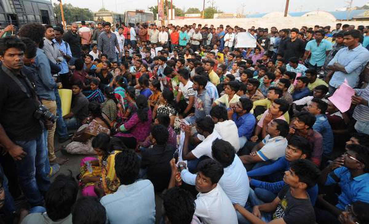Protests for jallikattu spread far and wide
