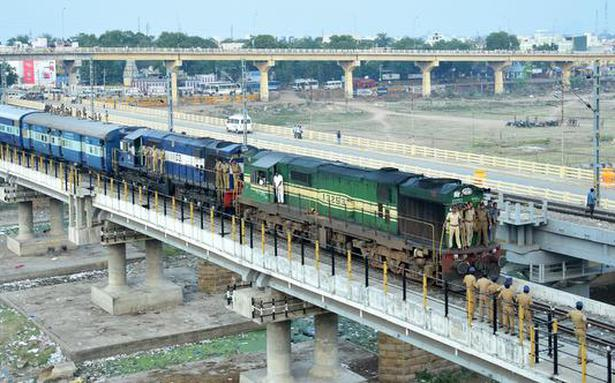 train services through madurai junction resume