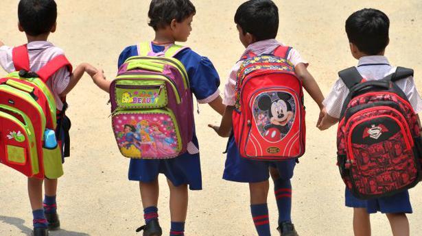 Telangana puts cap on school bag weight