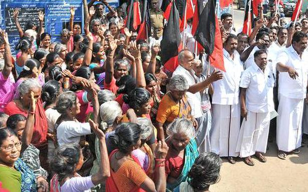 DMK stages demonstration