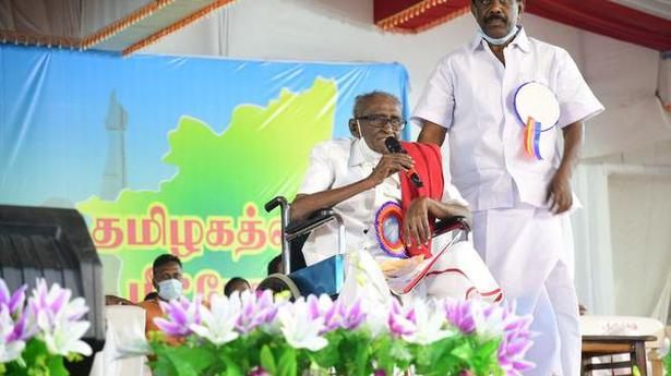 Fiery speech in Madurai was D. Pandian's final one