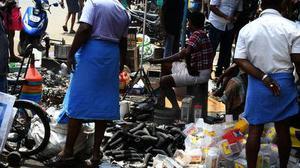Rain or shine, business is brisk in Madurai's Sunday Market