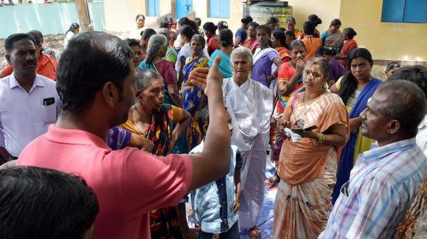 Gram sabha meetings witness heated arguments