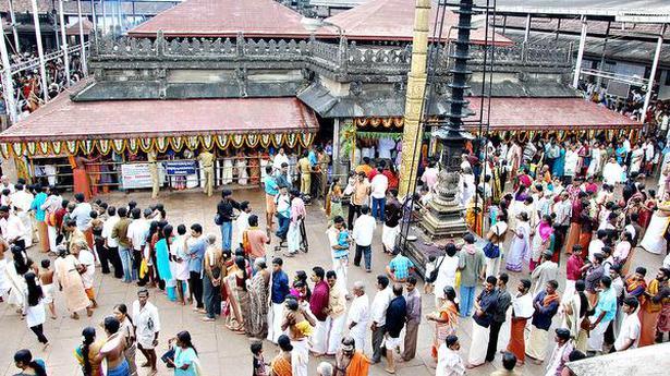 All set for Maha Navaratri at Mookambika temple in Kollur