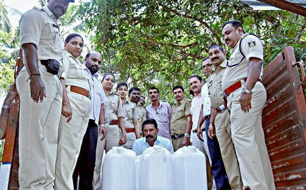Excise raid yields 7,805 litres of illegally stored spirit