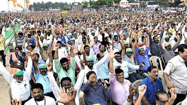 'Welfare measures not reaching people under Siddaramaiah govt.'