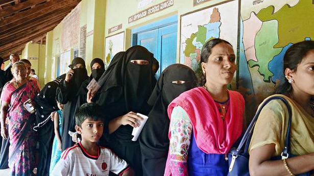 ULB polls: Moderate to brisk voting in Dakshina Kannada