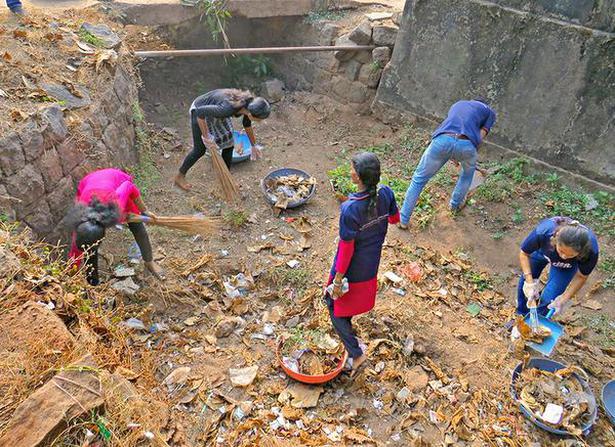 Jeppu Market Area Cleaned The Hindu