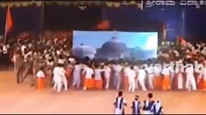 Karnataka school's re-enactment of Babri Masjid demolition draws criticism