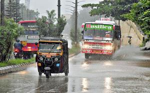Heavy rain predicted in coastal areas till August 29
