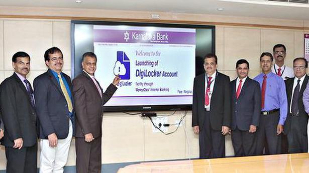 Karnataka Bank launches DigiLocker facility