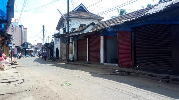 Chalai, the busiest market in Thiruvananthapuram, wears a deserted look.