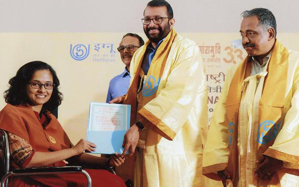 Ignou Hailed For Taking Education To All The Hindu