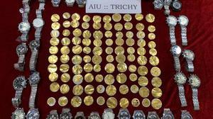 No let up in gold smuggling at Tiruchi airport