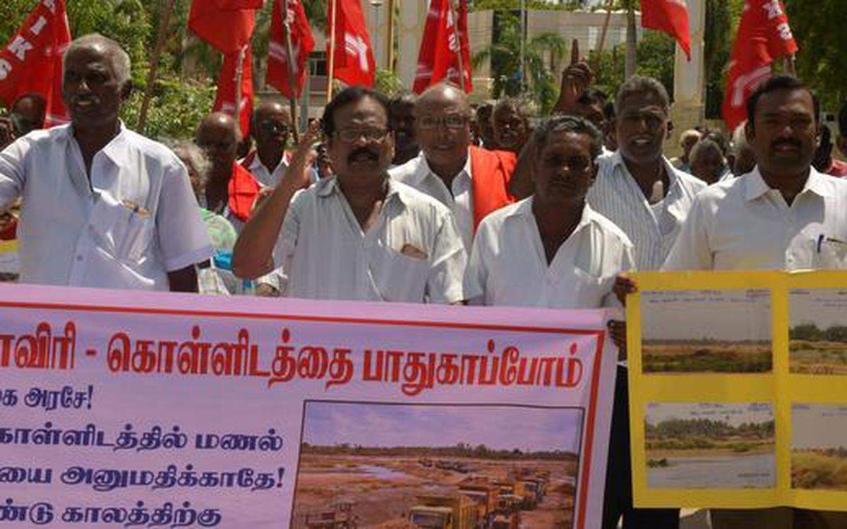 Move to extend permission for sand mining on Cauvery opposed - The ...