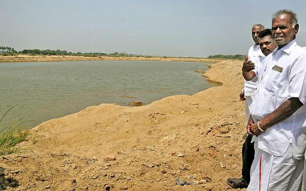 """Suspend sand mining in the Cauvery"""