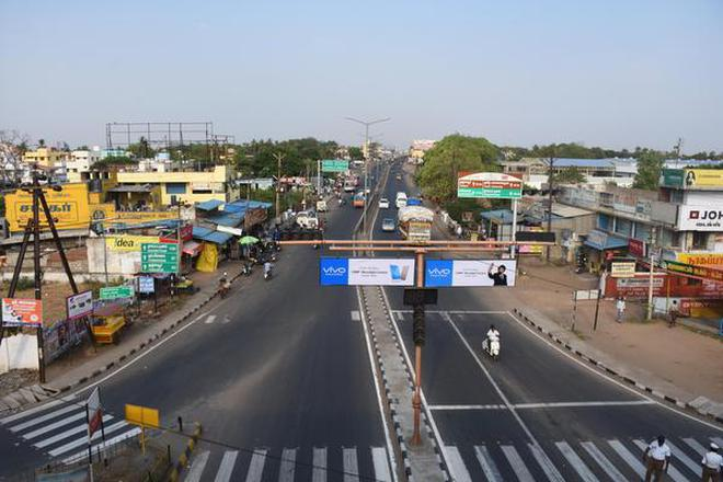 Image result for NH67 service road trichy