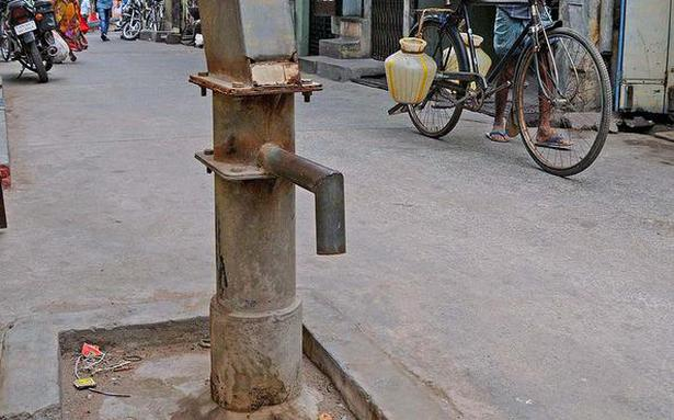Protests galore: Corporation plans repair of hand pumps