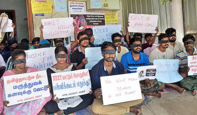 NEET: Students boycott classes in central region