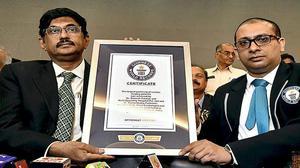 City hospital sets Guinness record