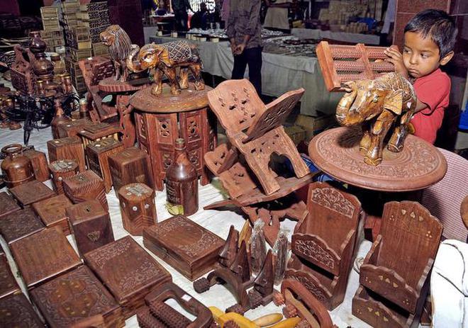 Handicrafts Expo Gets Under Way The Hindu