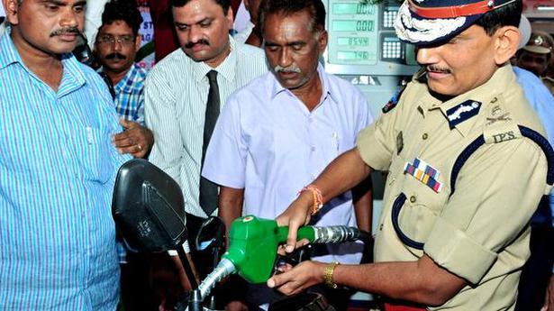 DGP inaugurates fuel station