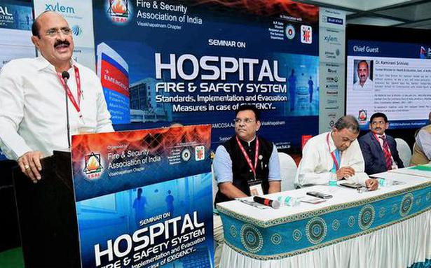 'Patients vulnerable to hospital fires'