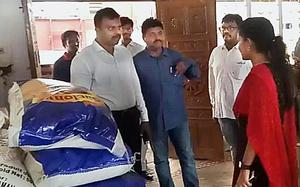 19.8 tonnes mid-day meal rice seized from ISKCON premises