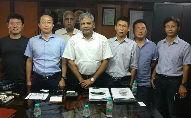 Chinese team keen on partnering govt. and private players