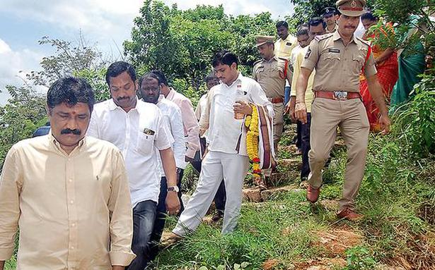 Drinking water scheme at Padmanabham launched