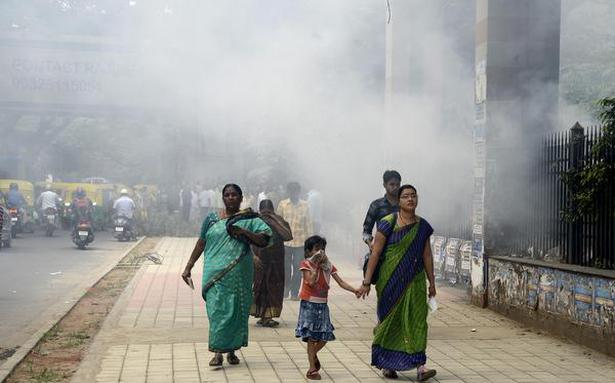 report  bengaluru ranks poorly in air quality