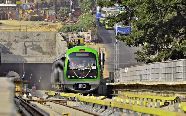 Green Line underground section trials from today