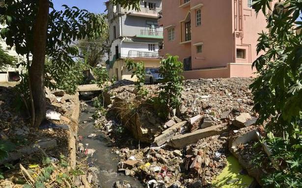 BBMP scrambling to get drains ready before monsoon