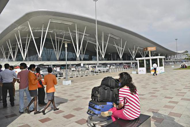 Image result for images of Kempegowda International Airport among fastest growing airports in world