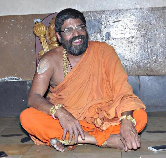 Image result for shiroor swamiji