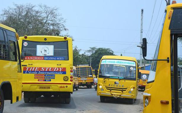 Increase in tax on school, college buses on the cards