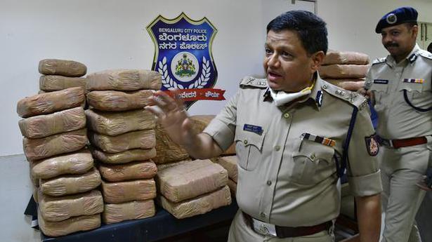 500 kg of marijuana seized in Bengaluru, three arrested