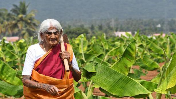 Padma Shri at 105, meet the Coimbatore grandma who is giving a leg up to organic farming