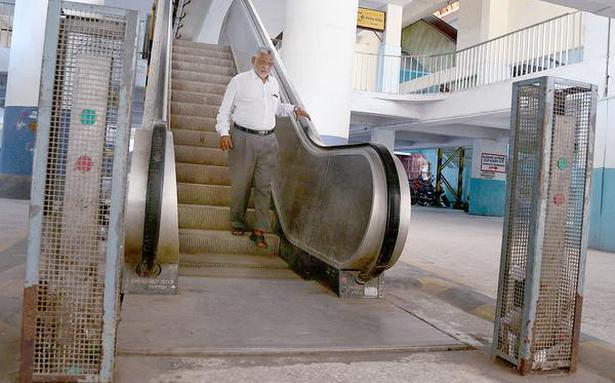 Escalators at Chintadripet station back in working order