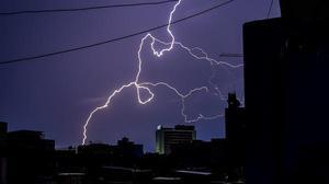 Heavy rain lashes parts of city