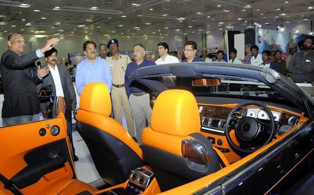 Swanky cars steal the show at Auto Expo