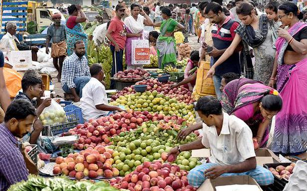 Traders at Koyambedu unhappy with amenities