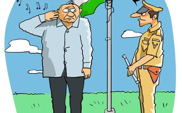 HC orders doctor to hoist national flag for a week