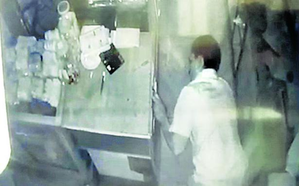 Eight shops burgled in Mylapore