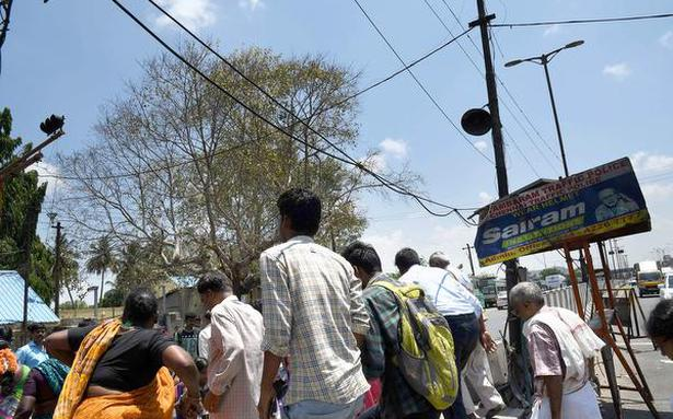 Threat from sagging cables near Tambaram bus terminus