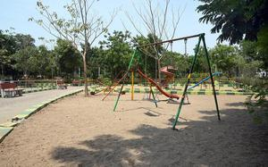 Borewells in parks dry up